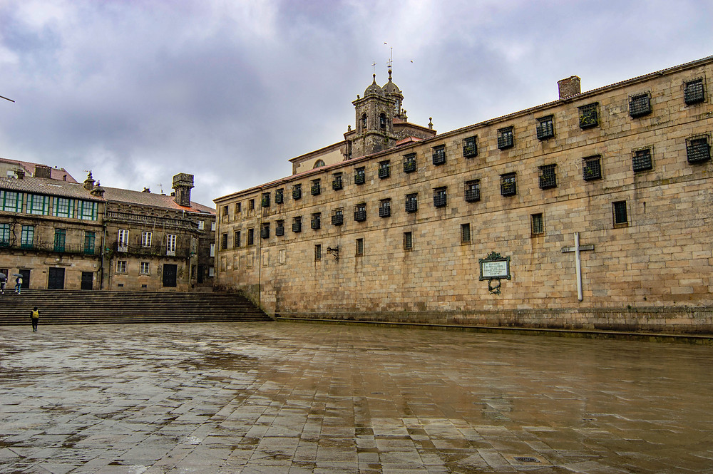 Plaza de la Quintana en Santiago de Compostela | Un Pin en el Mapa