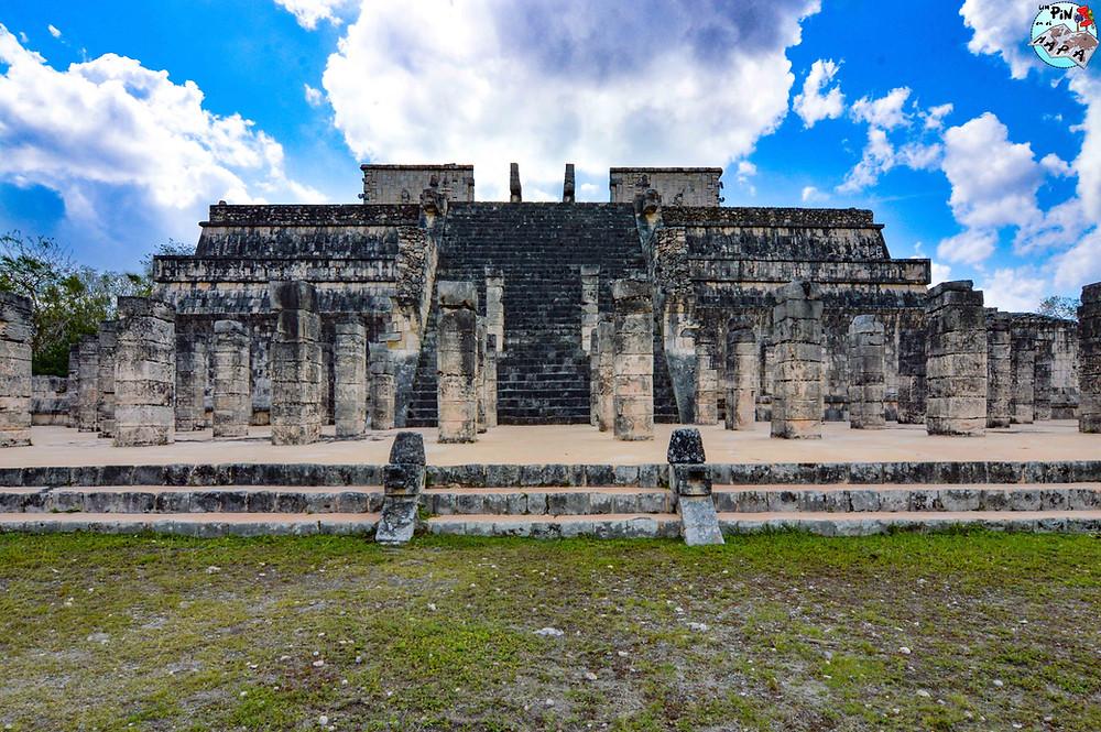 Templo de los Guerreros en Chichén Itzá | Un Pin en el Mapa