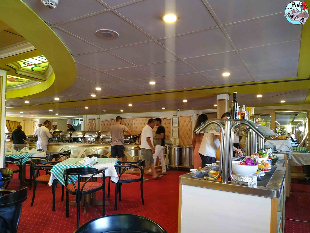 Comedor barco 5* estandard Crucero por el Nilo | Un Pin en el Mapa