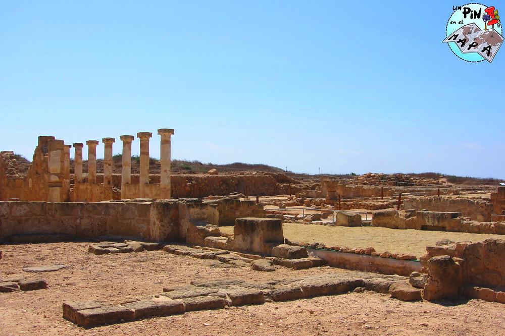 Parque Arqueológico de Paphos | Un Pin en el Mapa