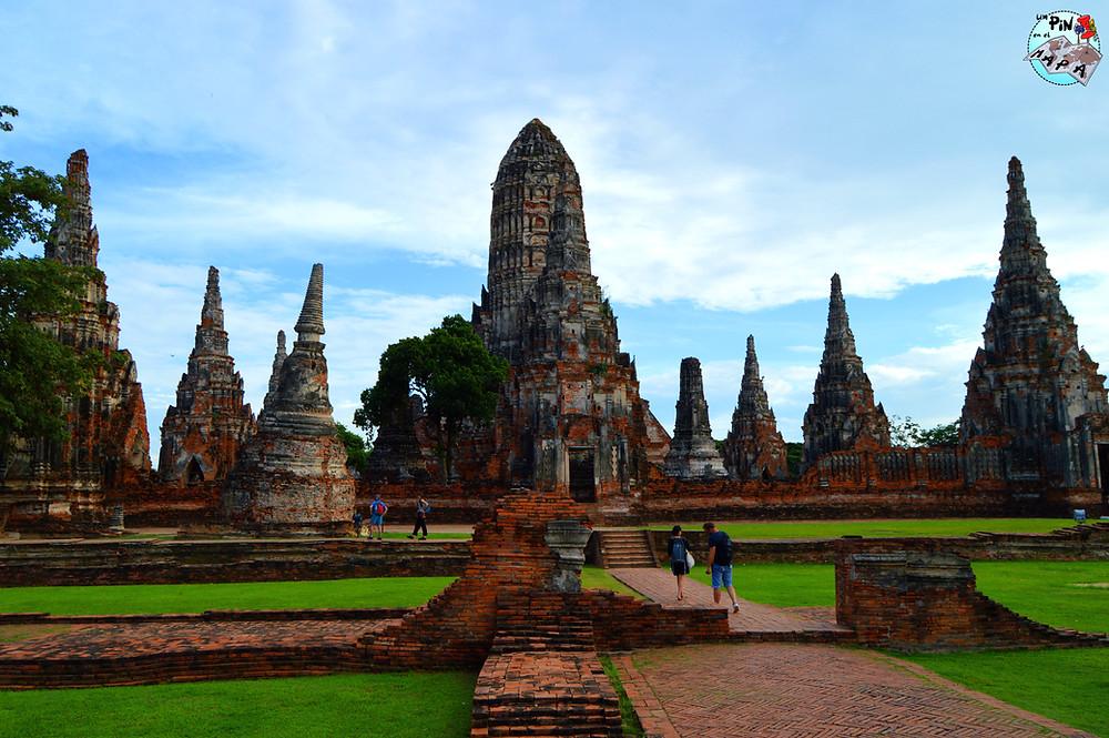 Wat Chaiwatthanaram, Tailandia | Un Pin en el Mapa