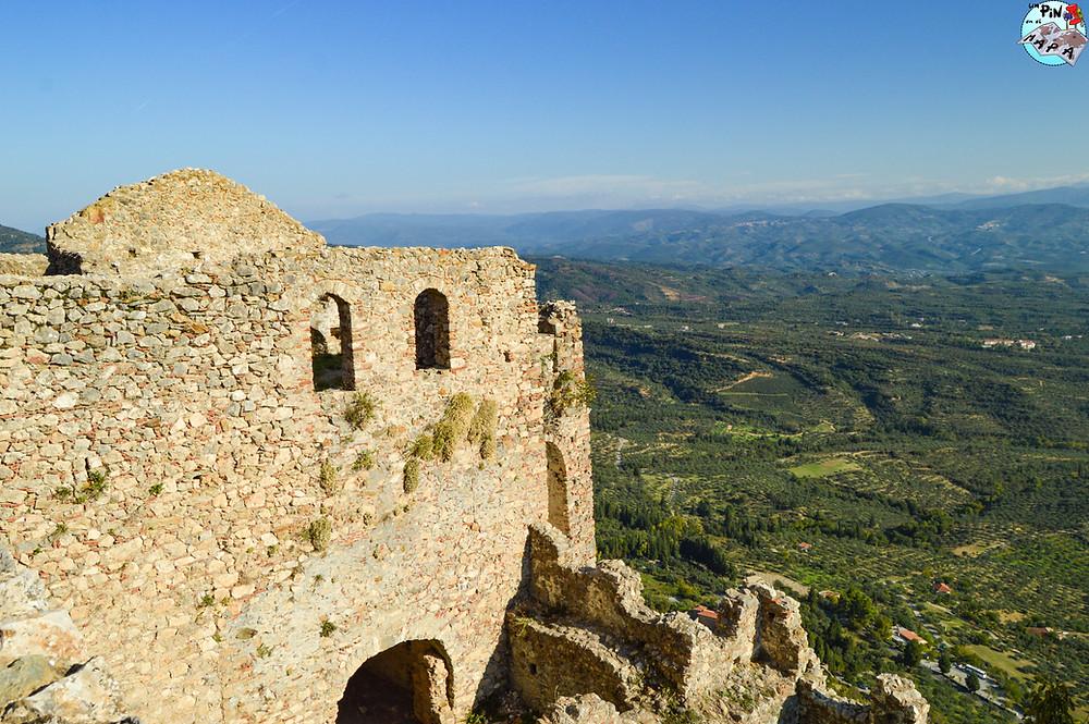 Castillo de Villehardouin, Mystras | Un Pin en el Mapa
