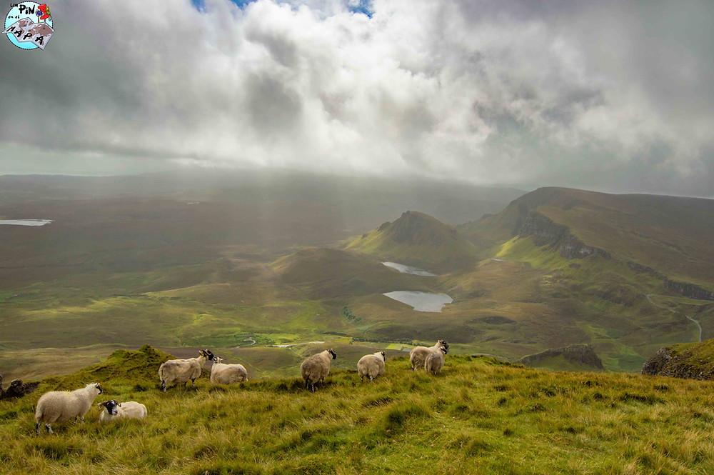 The Quiraing, Isla de Skye   Un Pin en el Mapa