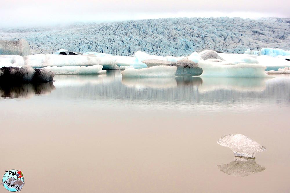 Laguna glaciar de Fjallsárlón, Islandia | Un Pin en el Mapa