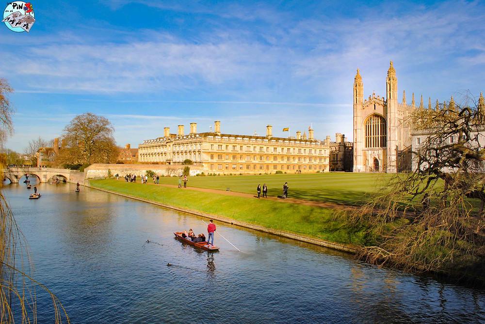 Los Backs de Cambridge | Un Pin en el Mapa
