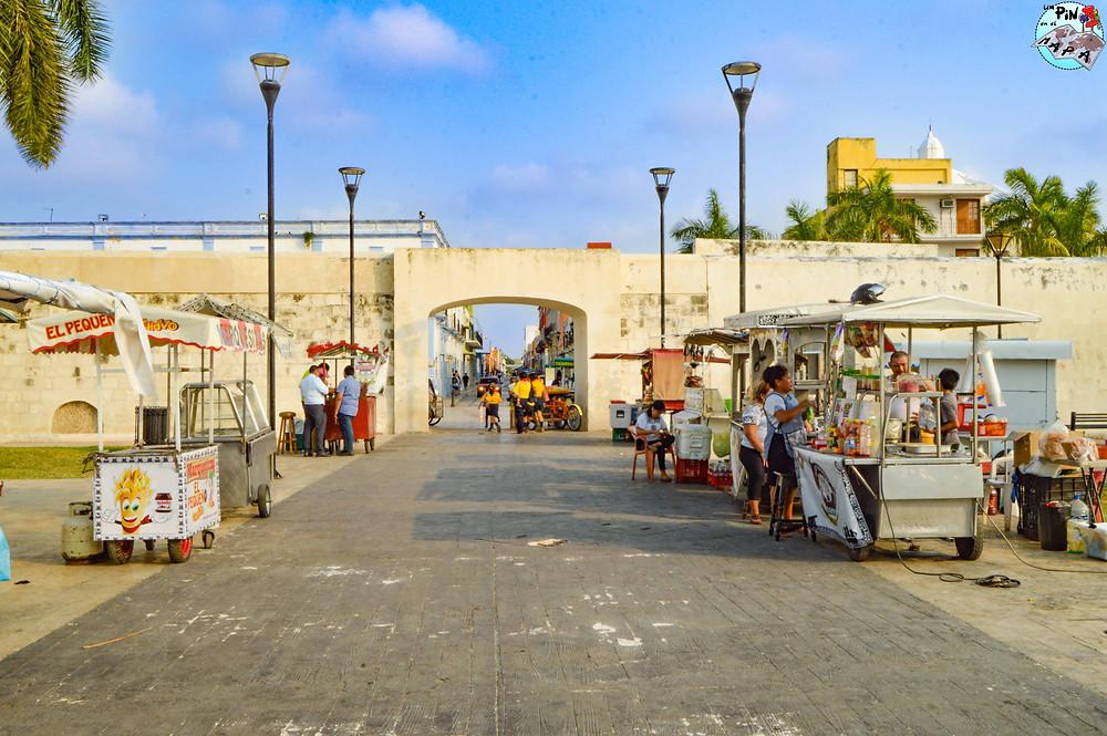 Puerta del Mar, Campeche | Un Pin en el Mapa