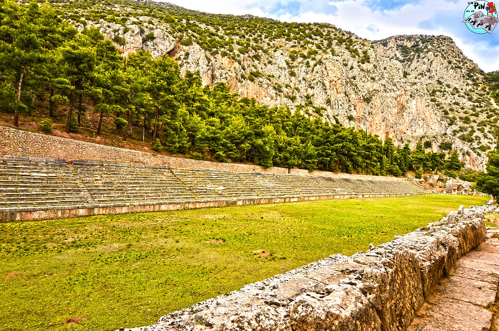 El estadio de Delfos | Un Pin en el Mapa