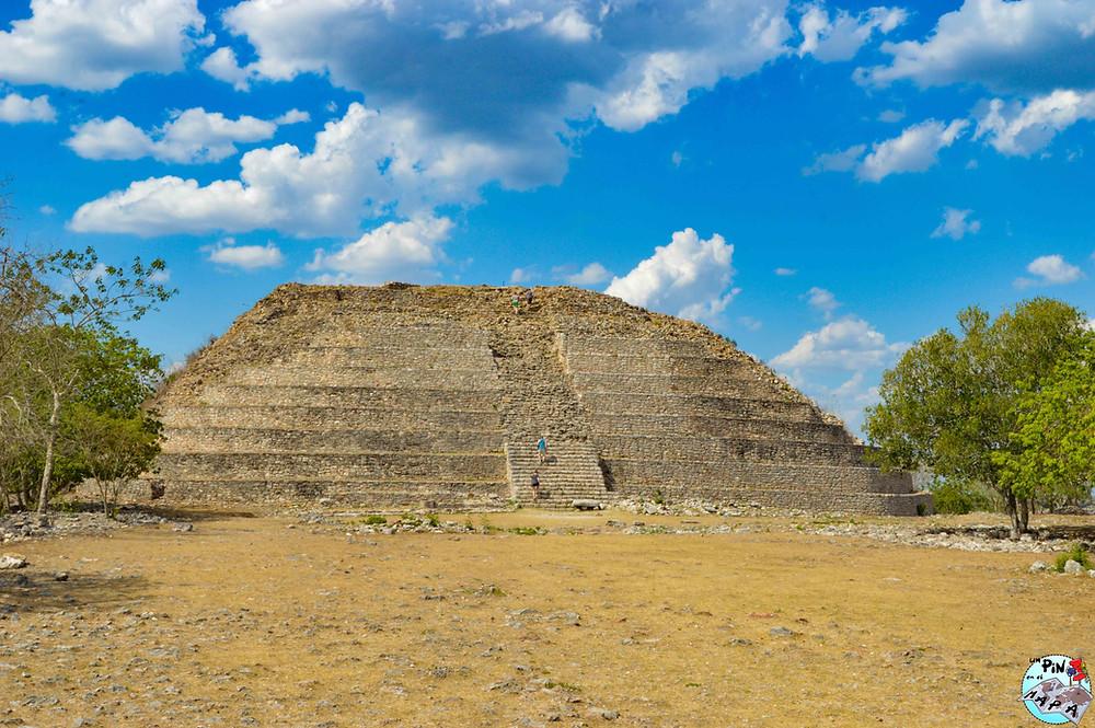 Pirámide de Kinich Kakmó, Izamal | Un Pin en el Mapa
