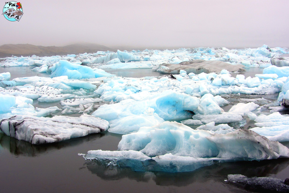 Laguna glaciar Jökursárlon, Islandia | Un Pin en el Mapa
