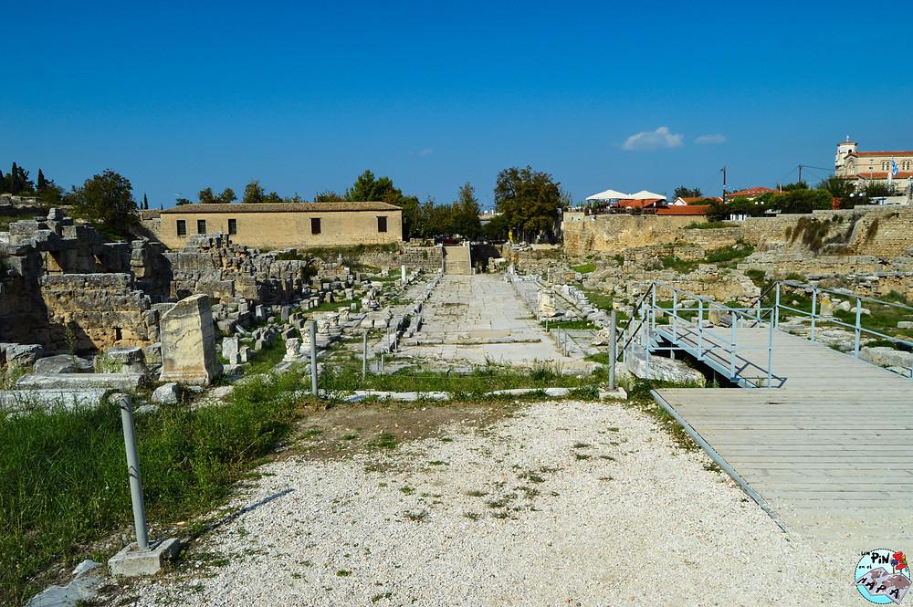 Calle del Lequeo en Corinto | Un Pin en el Mapa