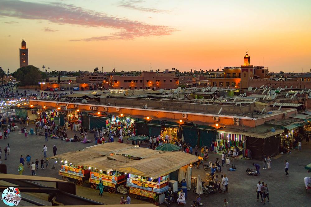 Marrakech   Un Pin en el Mapa