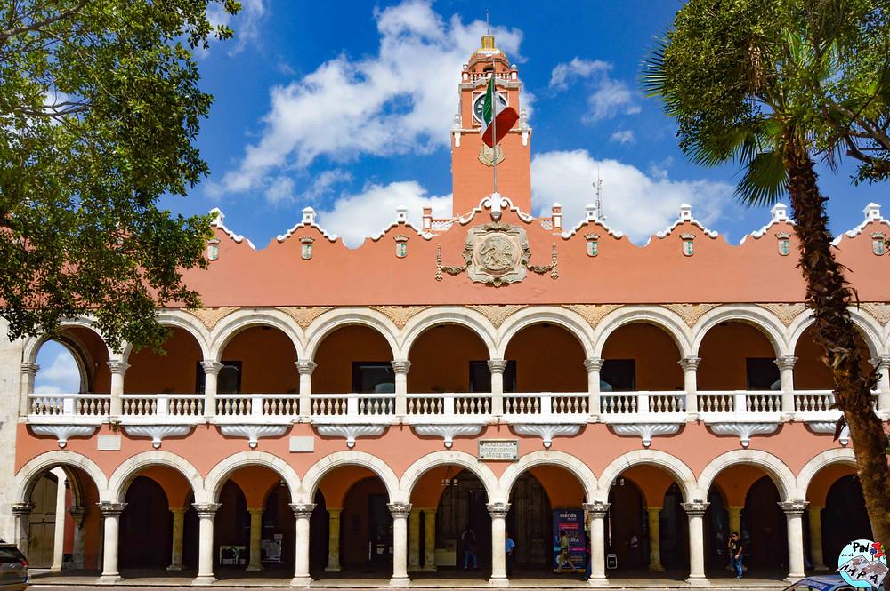 Palacio Municipal de Mérida, Yucatán | Un Pin en el Mapa