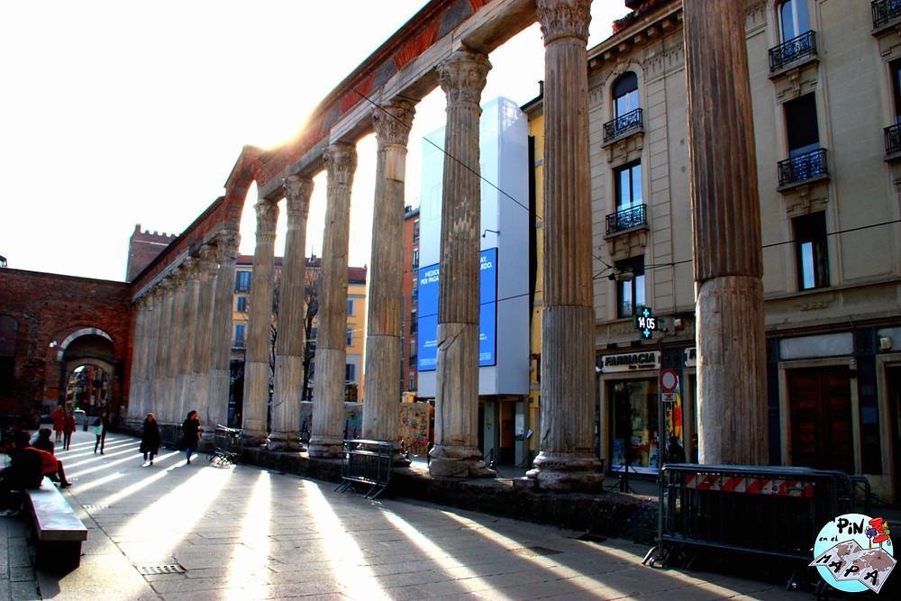 Columnas de San Lorenzo | Un Pin en el Mapa