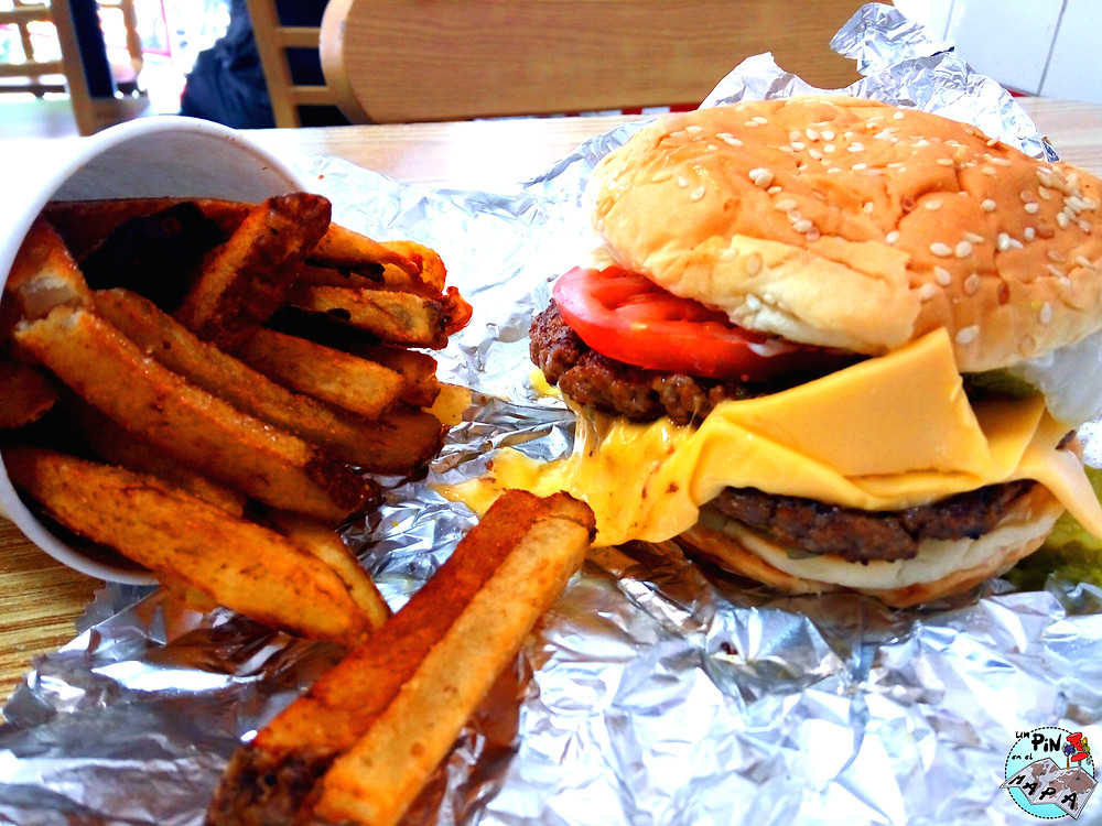 Five Guys | Un Pin en el Mapa