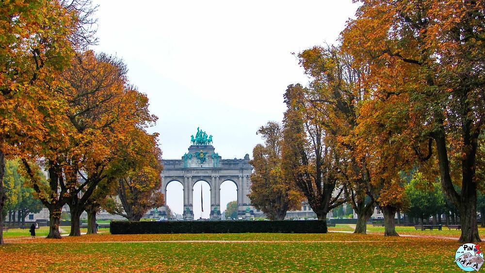 Parque del Cincuentenario, Bruselas | Un Pin en el Mapa