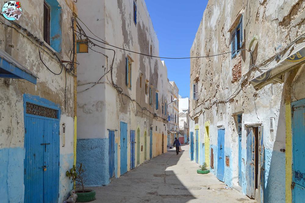 Calles de Essaouira   Un Pin en el Mapa