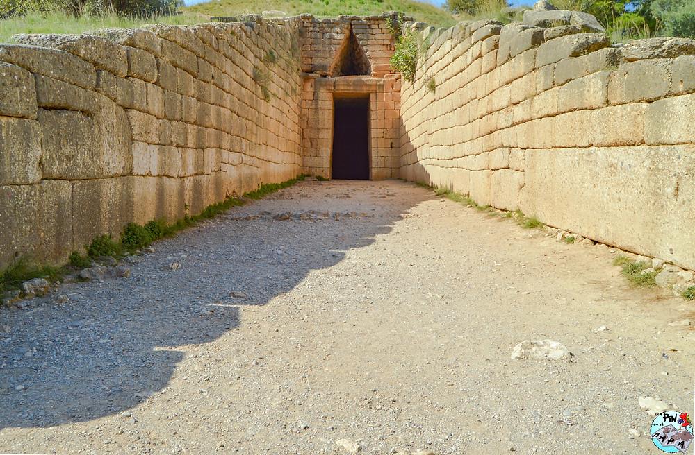 Tesoro de Atreo (o Tumba de Agamenón) en Micenas | Un Pin en el Mapa