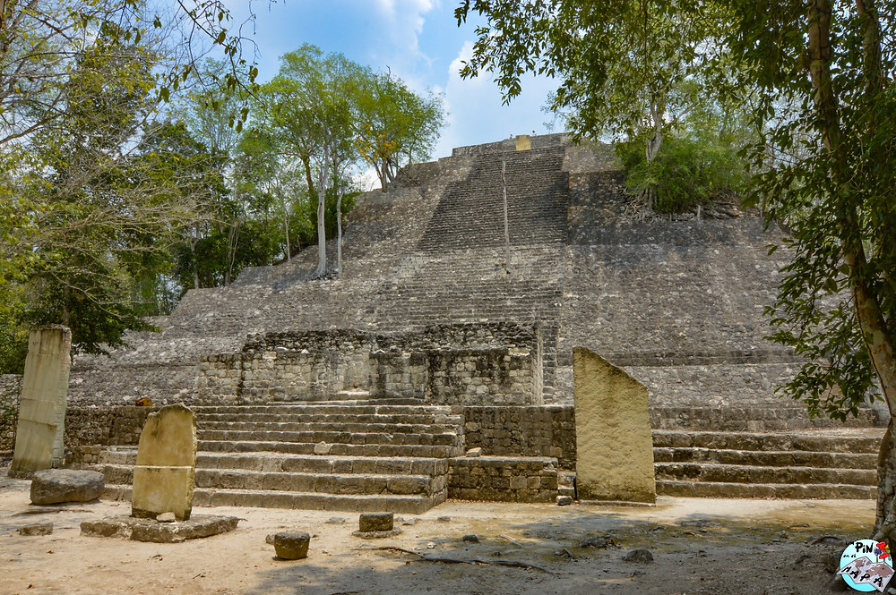 Estructura I de Calakmul | Un Pin en el Mapa