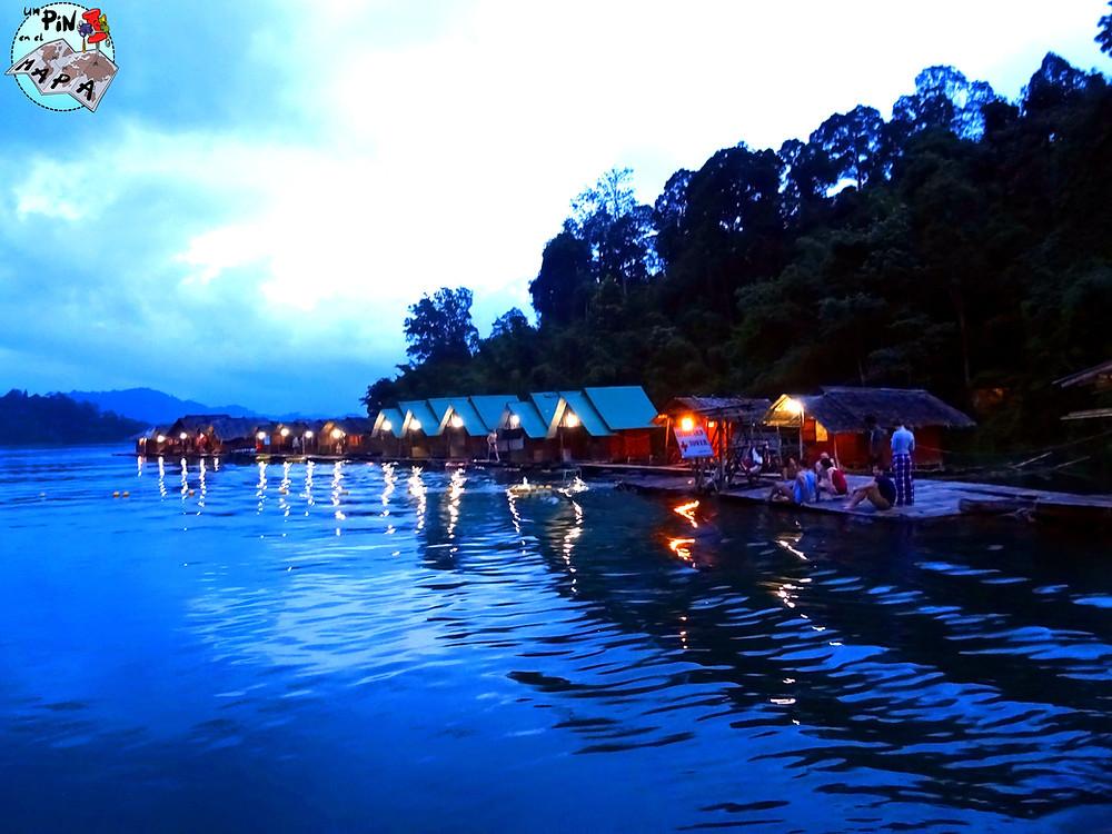 Lago Cheow Lan, Tailandia | Un Pin en el Mapa