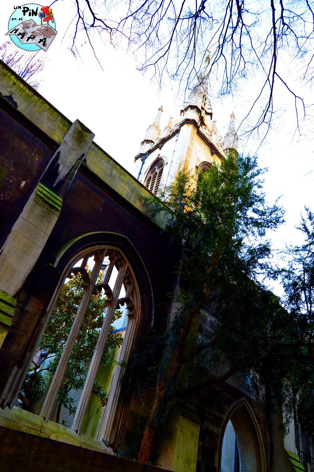 St Dunstan in the East | Un Pin en el Mapa