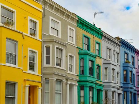Las 22 calles más bonitas y coloridas de Notting Hill