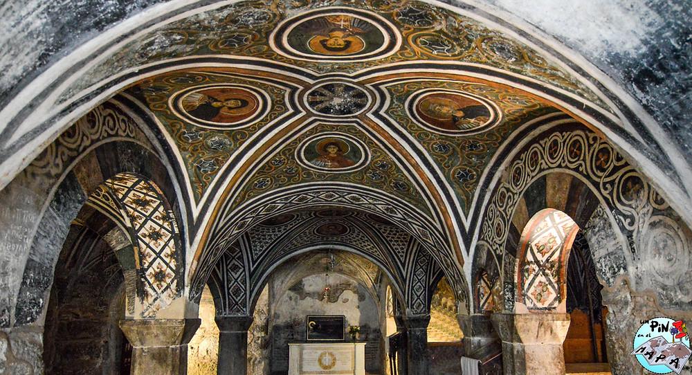 Cripta de Santa Barbara | Un Pin en el Mapa