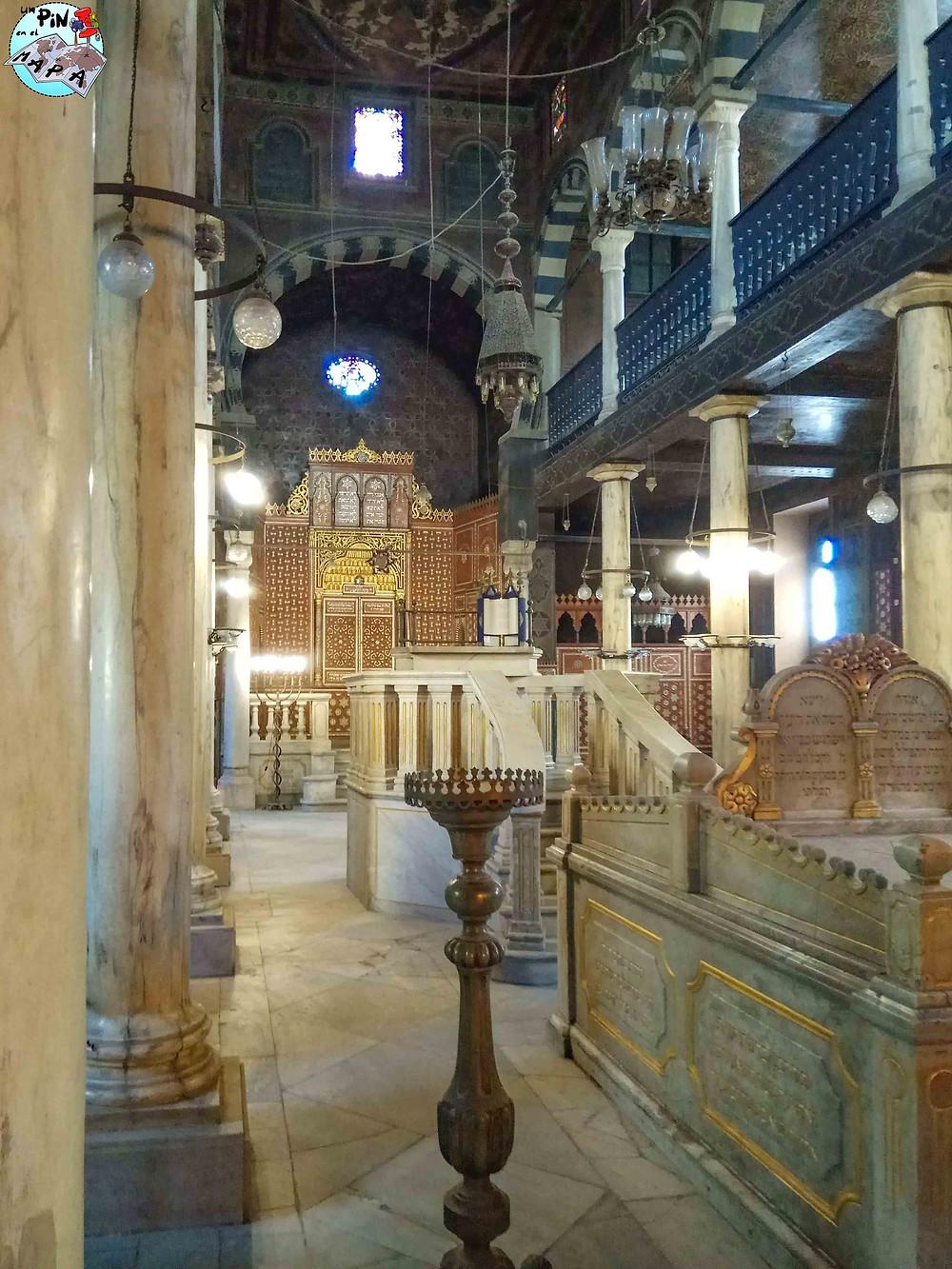 Sinagoga Ben Ezra, Barrio Copto del Cairo | Un Pin en el Mapa