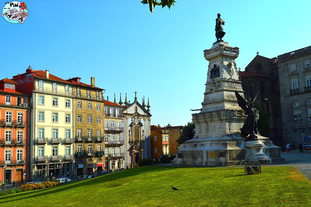 Jardín do Infante Dom Henrique y el Palacio de Bolsa Oporto | Un Pin en el Mapa