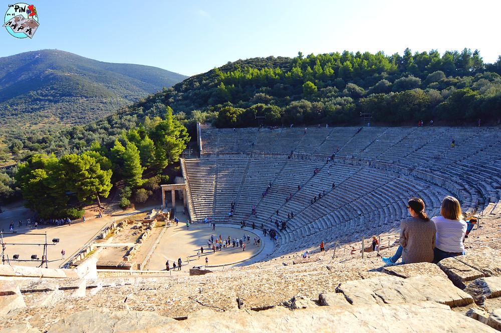 Epidauro, Grecia | Un Pin en el Mapa