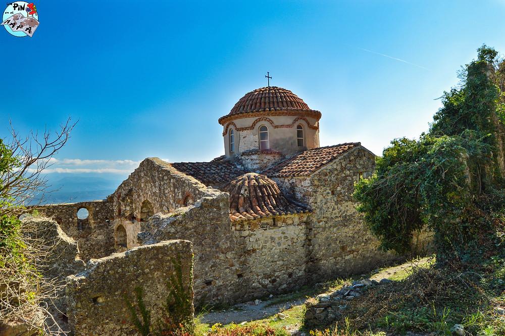 Agios Nikolaos, Mystras | Un Pin en el Mapa