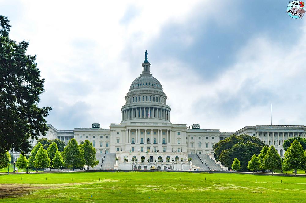 El Capitolio en Washington DC   Un Pin en el Mapa