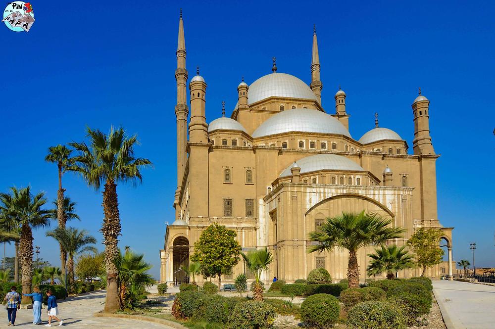 Mezquita de Alabastros, Ciudadela del Cairo | Un Pin en el Mapa