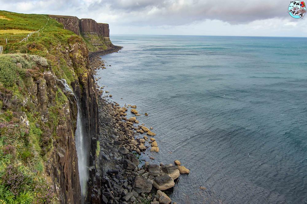 Mealt Waterfall y el mirador al Kilt Rock, Isla de Skye | Un Pin en el Mapa
