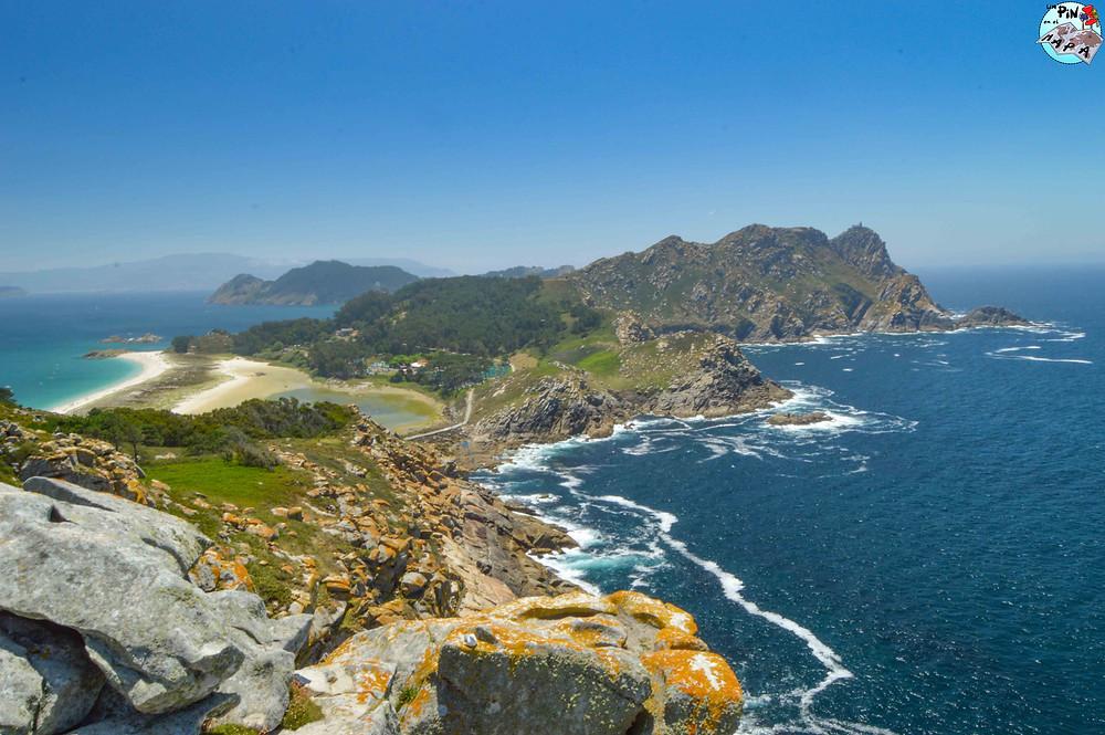 Islas Cíes de Galicia | Un Pin en el Mapa