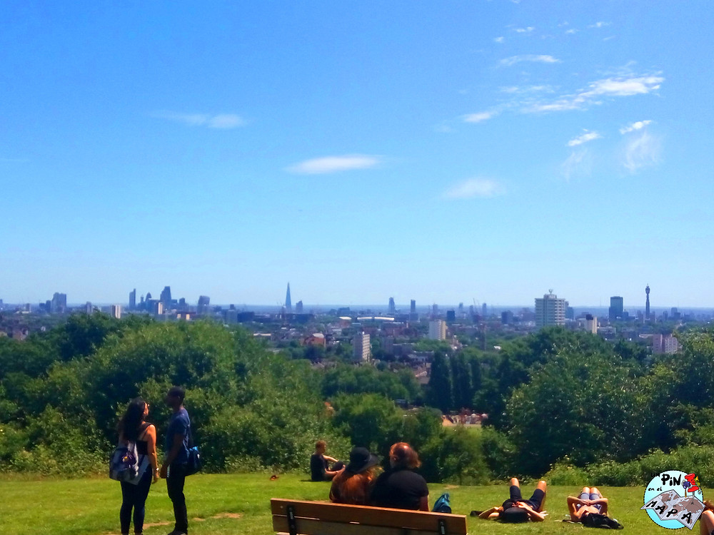 Hampstead Heath Londres | Un Pin en el Mapa