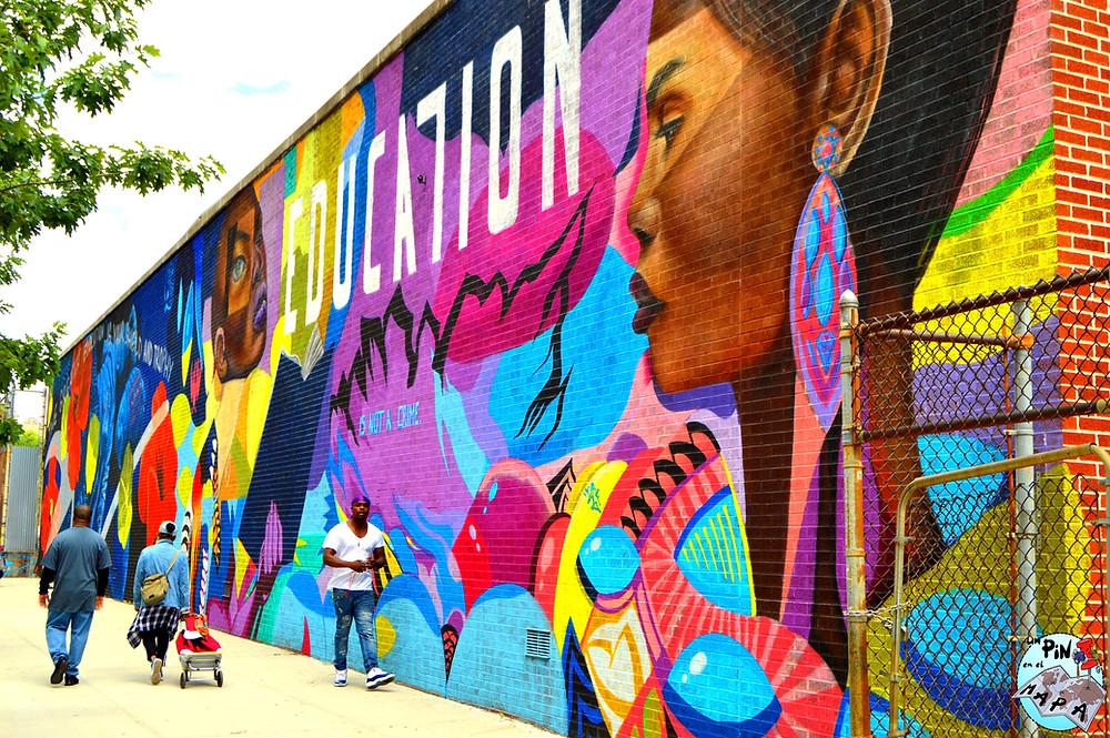 Arte Callejero en Harlem | Un Pin en el Mapa