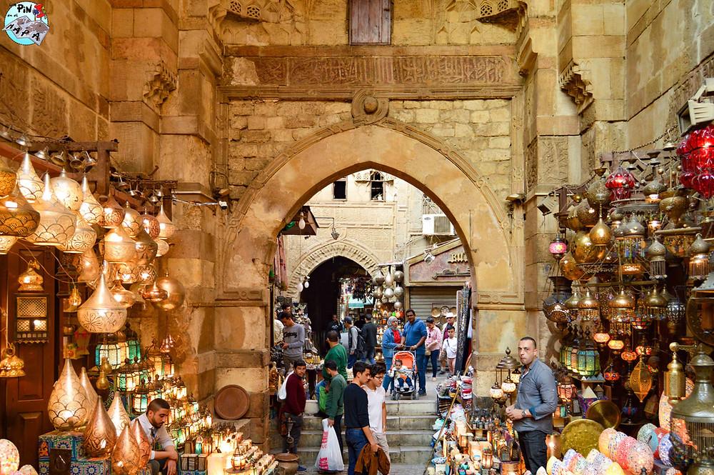 Bazar de Khan Al Khalili | Un Pin en el Mapa