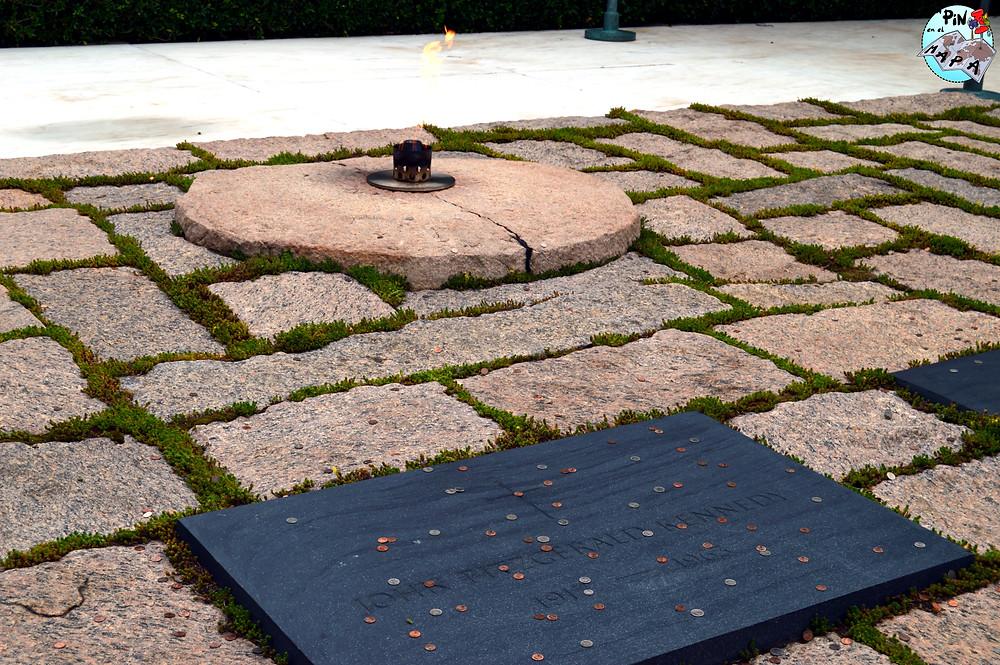 Tumba del presidente John F. Kennedy | Un Pin en el Mapa