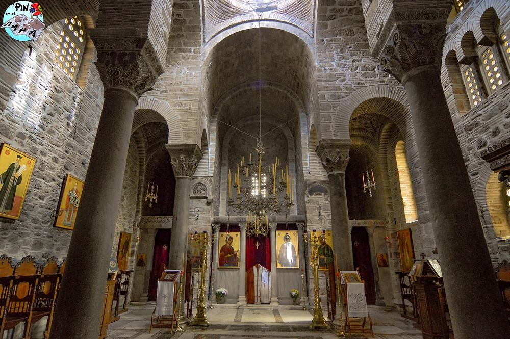 Iglesia Panagia en el Monasterio de Hosios Loukas | Un Pin en el Mapa