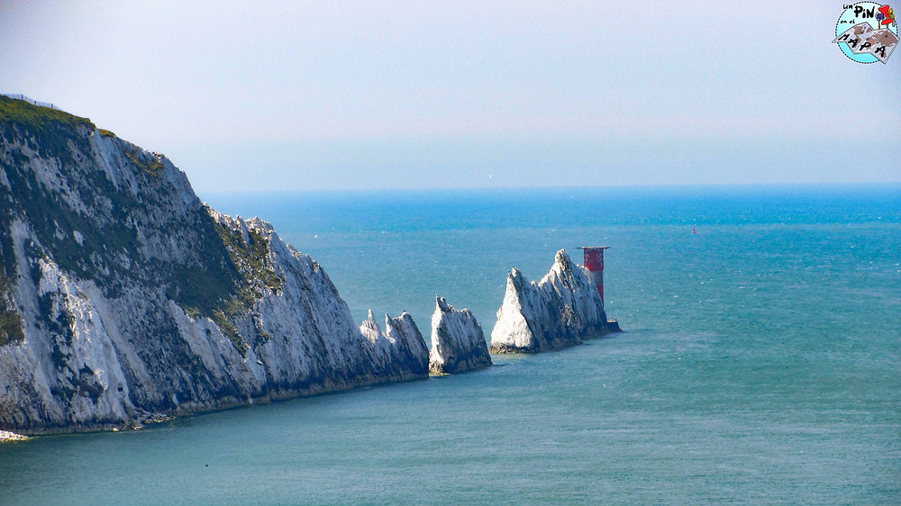 Las Needles en la Isle of White | Un Pin en el Mapa