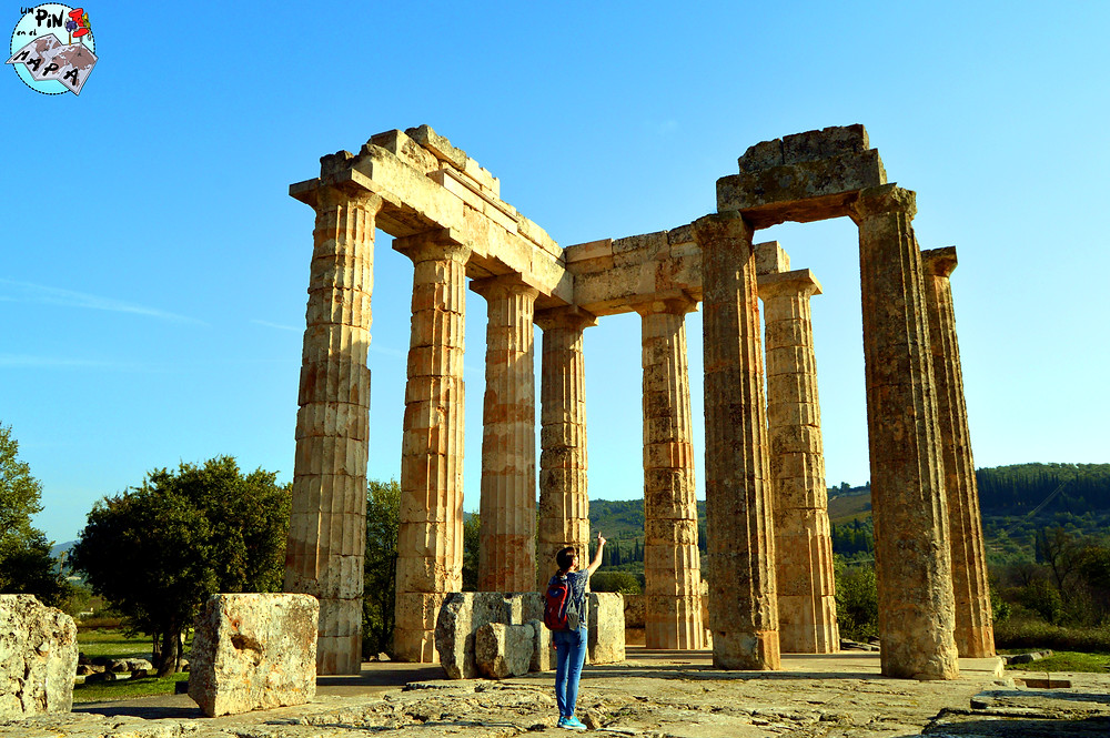 Antigua Nemea, Grecia | Un Pin en el Mapa