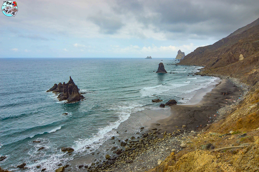 Playa de Benijo en Anaga, Tenerife | Un Pin en el Mapa