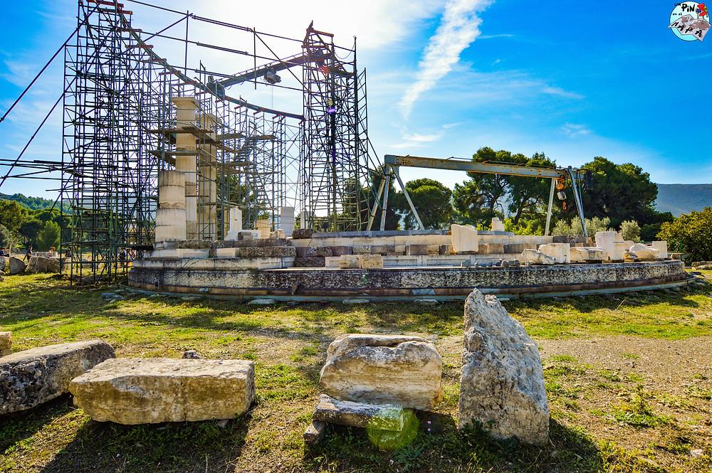 Tholo de Epidauro | Un Pin en e Mapa