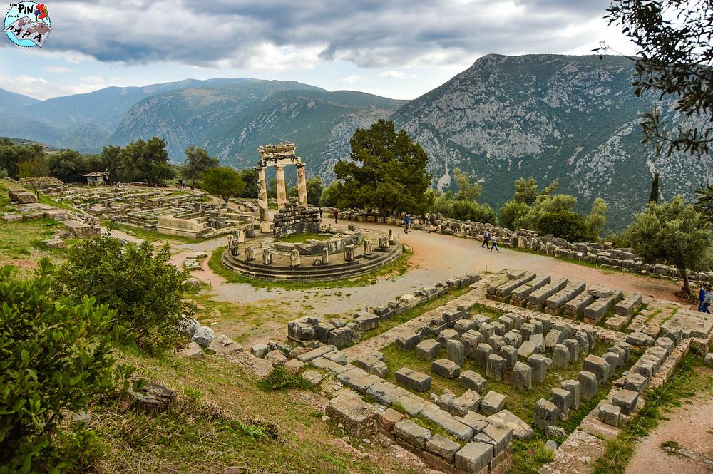 Santuario de Atenea Pronaia en Delfos | Un Pin en el Mapa