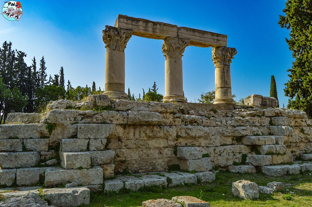 Templo E en Corinto | Un Pin en el Mapa