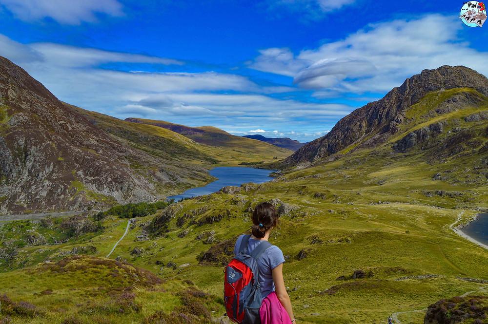 Ruta de senderismo Y Garn, Snowdonia | Un Pin en el Mapa