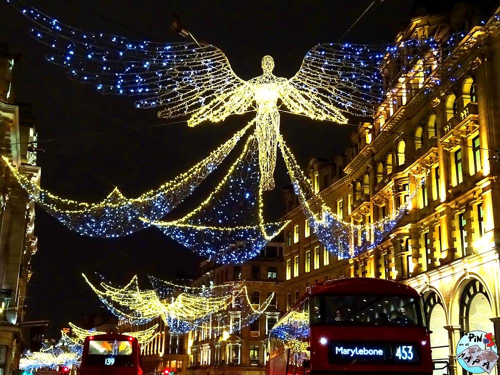 Regent Street Christmas Lights | Un Pin en el Mapa