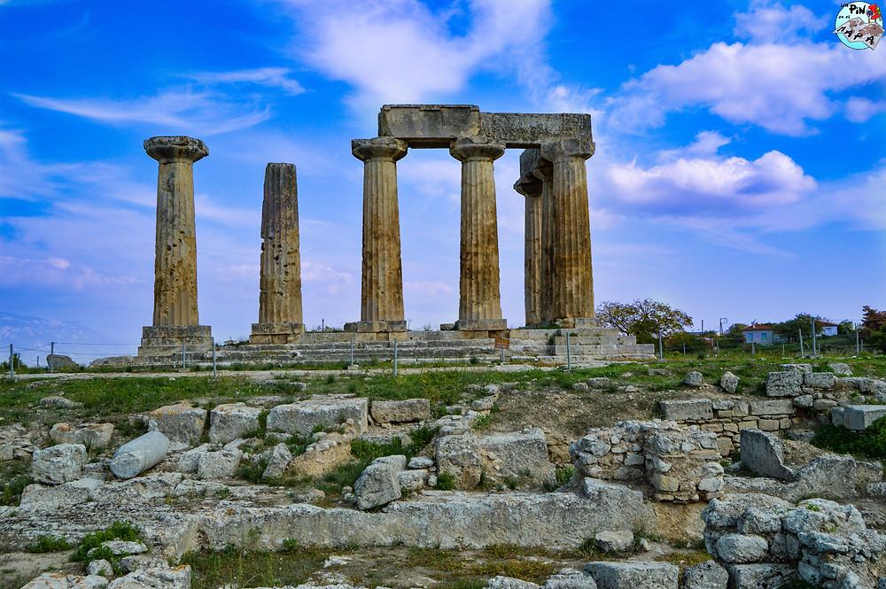 Templo de Apolo (Corinto) | Un Pin en el Mapa