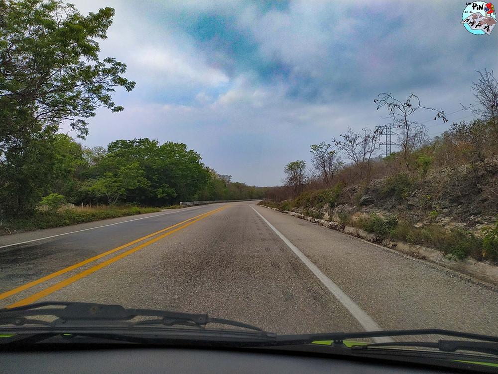 Carretera Península de Yucatán | Un Pin en el Mapa