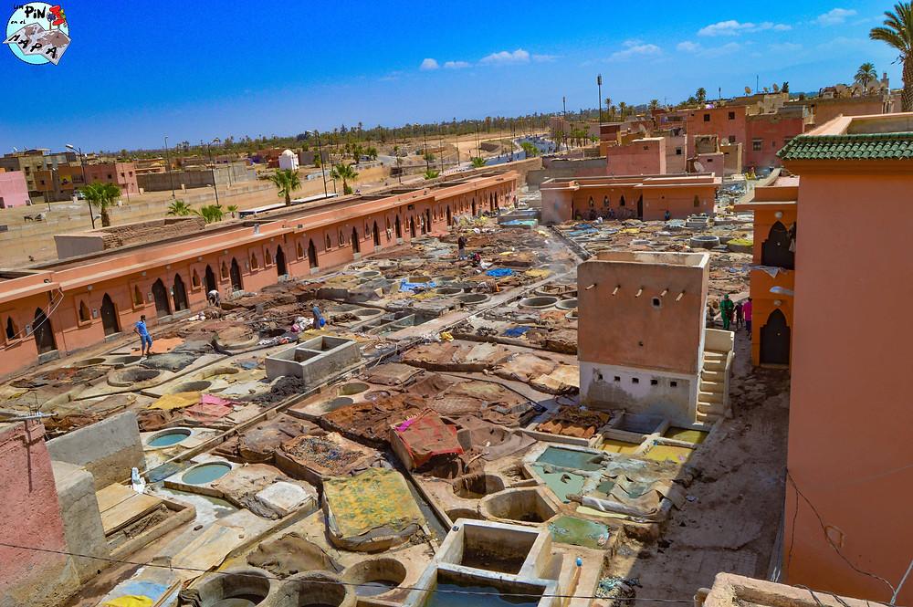 Los curtidores de Marrakech | Un Pin en el Mapa